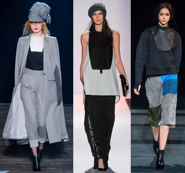Fall 2013 NYFW Trend: The Dickie Band of Outsiders, BCBG, Tibi