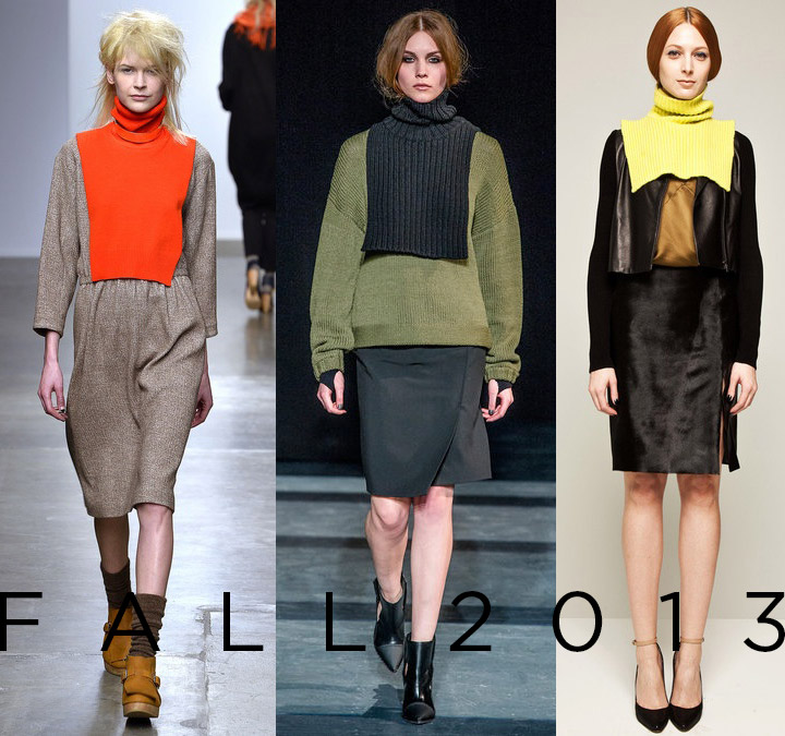 Fall 2013 NYFW Trend: The Dickie A Detacher, Tibi,  M.Patmos