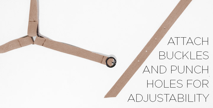 How to make a suede harness diy