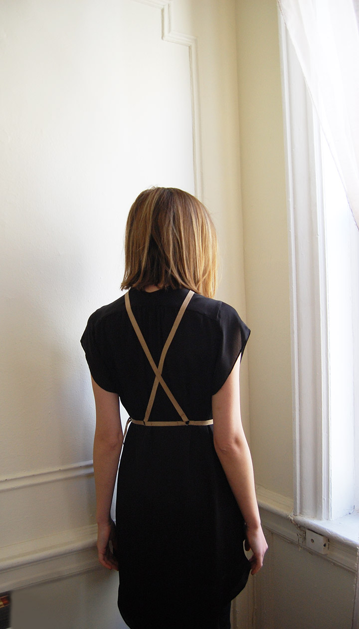 DIY Suede Harness