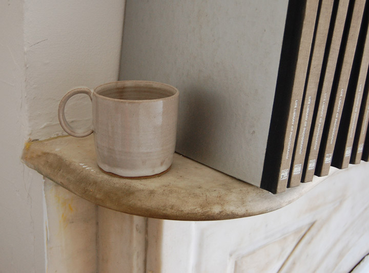 One to Watch- Brooklyn Based Potter Helen Levi Ceramic Camp Mug | DeSmitten