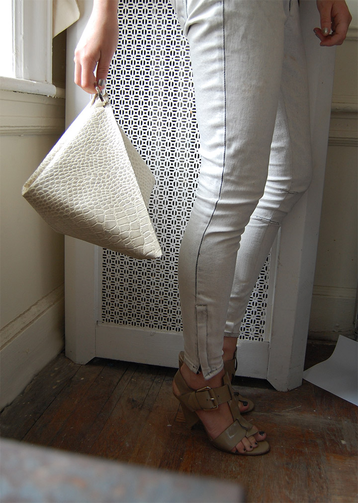 DIY: C¨¦line Structured Clutch - DeSmitten Design Blog