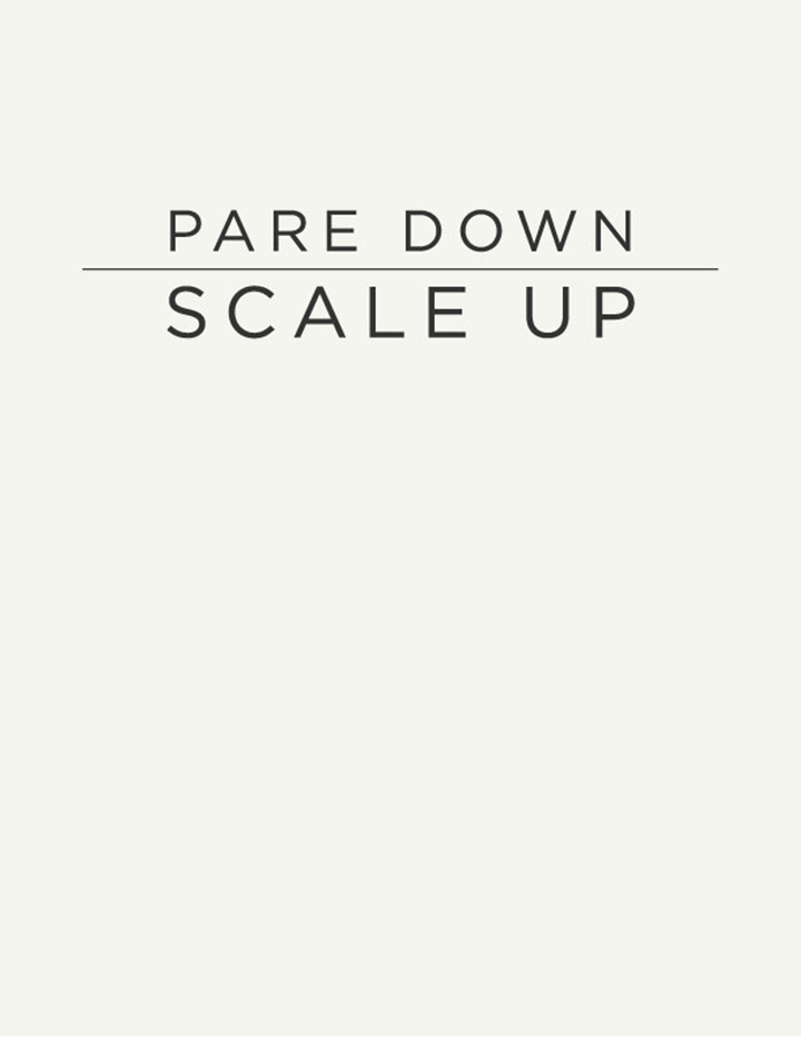 Fashion Resolutions 2014 - Pare down, scale up - edit and streamline your wardrobe | DeSmitten