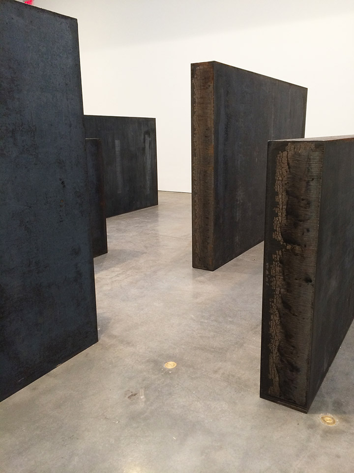 Gagosian Gallery Nyc Richard Serra Richard Serra Exhibit Nyc 5