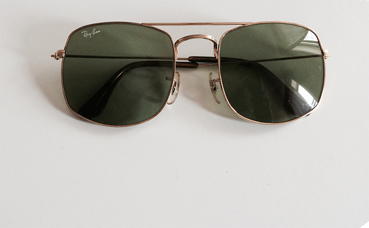 vintage ray ban sunglasses  Inherited: Vintage Ray Ban Sunglasses - DeSmitten Design Journal
