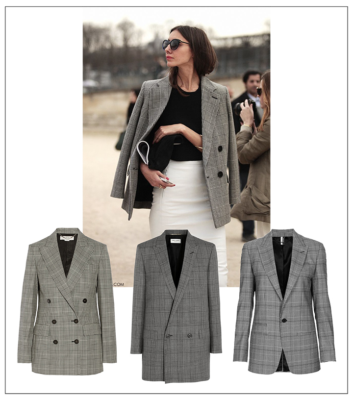 must-have-fall-2014-check-blazer-stella-mccartney-saint-laurent-topshop | DeSmitten
