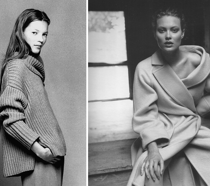 kate-moss-calvin-klein-early-1990s-shalom-harlow-by-kelly-klein-for-harper's-bazaar-sept-1997-desmitten