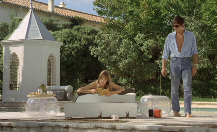 French film la piscine 2 jane birkin desmitten desmitten for Piscine in french